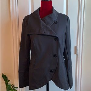 White House Black Market Asymmetrical Jacket NWOT